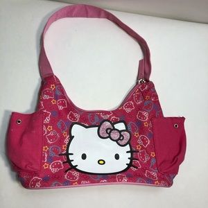 Girls Hello Kitty Pink Purse Handbag.